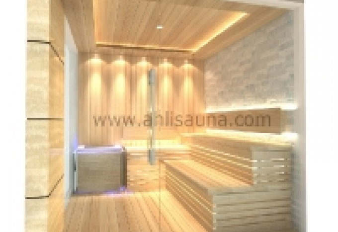 SAUNA GLASS ROOM